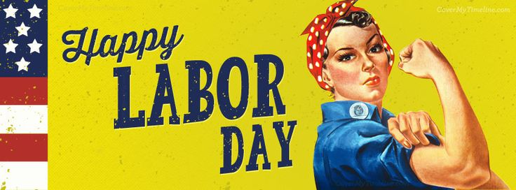 Happy Labor Day Rosie the Riveter